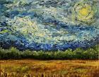 Blue Sky Swirl By Rachel Lord