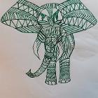 Green Elephant by jdoefer