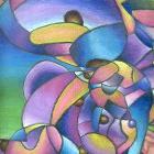 Purple Bear by lirieljo