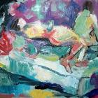 Two Figures (Leaving so Soon) by Shay