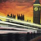 Lights of London by Clarissa Saunders