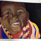The Happy African Child by ElleyCoffin