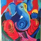 Dancing Ganeesha by sruthi3