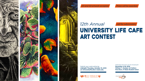 12th Annual art contest submission flyer