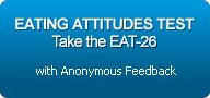 "rectangular box with text inside ""eating attitudes test; take the eat-26 with anonymous feedback"""