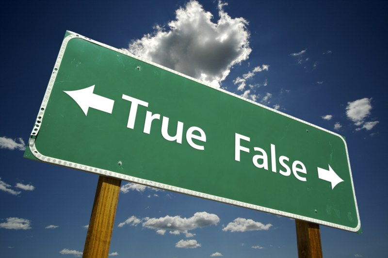 Tips for True or False Exams